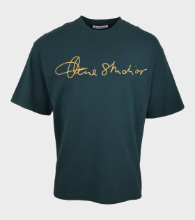 Acne Studios - Italics T-shirt Deep Green