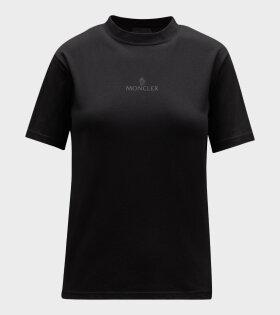 Moncler - Maglia Print T-shirt Black