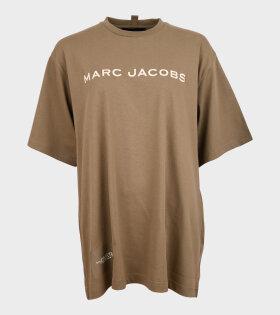Marc Jacobs - The Big T-shirt Slate Green