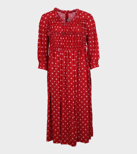 Comme des Garcons - Dotted Dress Red
