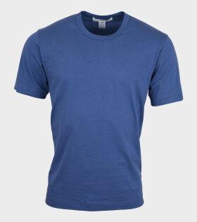 Comme des Garcons Shirt - Basic T-shirt Blue
