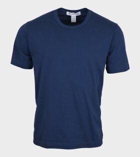 Comme des Garcons Shirt - Basic T-shirt Midnight Blue