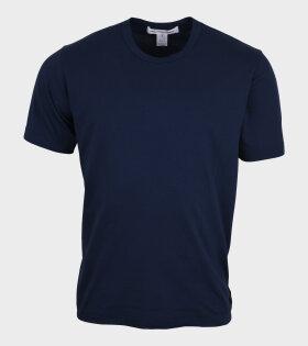 Comme des Garcons Shirt - Basic T-shirt Navy