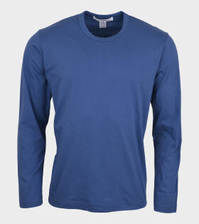 Comme des Garcons Shirt - Basic LS T-shirt Blue