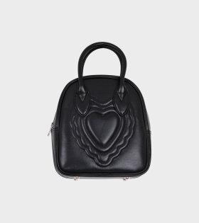 Comme des Garcons Girl - Small Heart Bag Black