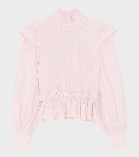Cotton Poplin Shirt Pink - dr. Adams