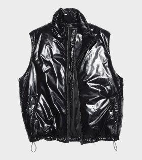 Acne Studios - Nylon Puffer Vest Black