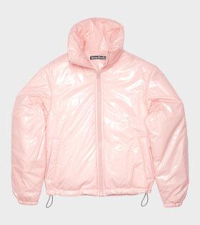 Acne Studios - Nylon Puffer Jacket Pink