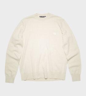 Acne Studios - Crew Neck Sweater Off-white