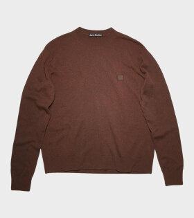 Acne Studios - Crew Neck Sweater Brown