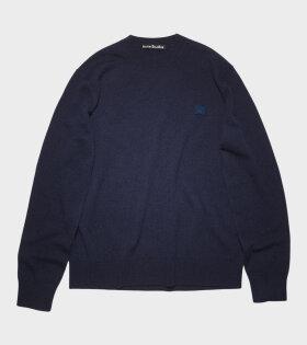 Acne Studios - Crew Neck Sweater Navy