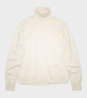 Acne Studios - Turtleneck Sweater Off-white
