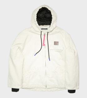 Acne Studios - Padded Cotton Jacket Off-white