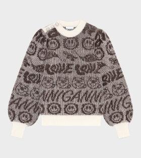 Soft Wool Knit Brown - dr. Adams