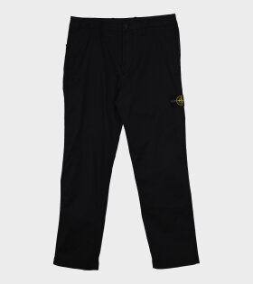 Stone Island - Patch Pants Black