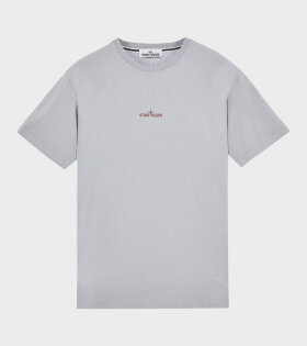 Stone Island - Logo Print T-shirt Grey
