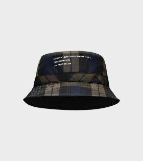 Cappello Bucket Hat Navy/Khaki