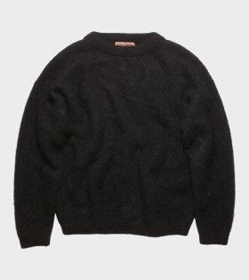 Acne Studios - Mohair-Blend Sweater Black