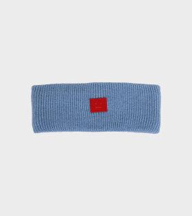 Acne Studios - Ribbed Headband Blue