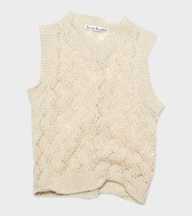 Acne Studios - Shetland Wool Vest Powder Pink