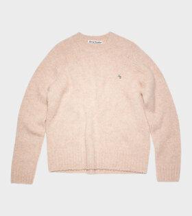 Acne Studios - Crew Neck Sweater Pastel Pink