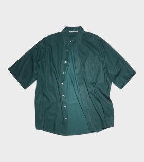 Acne Studios - Oversized Shirt Emerald Green