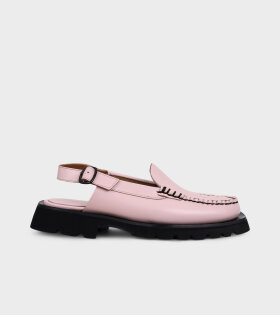 X Hereu Raiguer Sport Slingback Loafers Blossom Pink