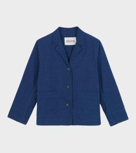 Soft Jacket Twill Japanese Blue