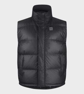 Dyngja Down Vest Black