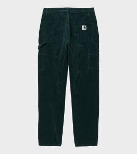 W Pierce Pants Straight Green