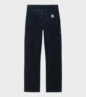 W Pierce Pants Straight Navy