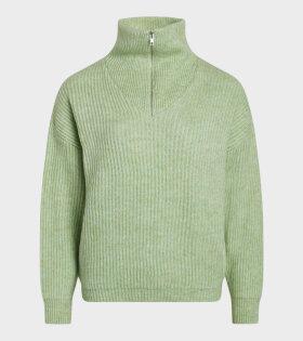 Mads Nørgaard  - Kinju Sweater Pastel Green