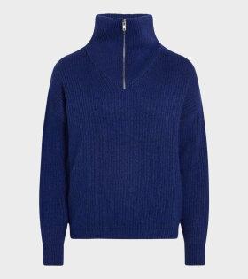 Mads Nørgaard  - Kinju Sweater Princess Blue