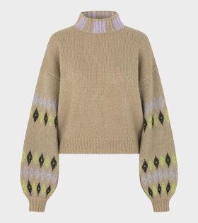 Stine Goya - Adonis Sweater Fair Isle