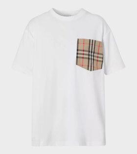 Carrick Pocket T-shirt White