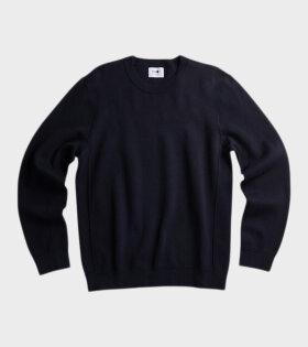 Luis Knit Navy