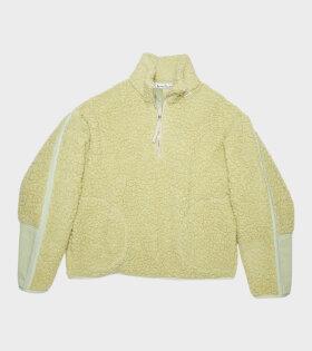 Fleece Sweatshirt Pistachio Green