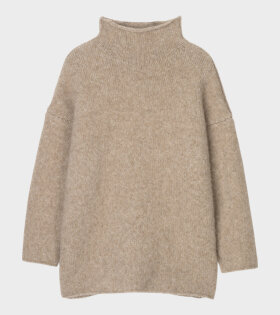 Aiayu - Teddy Sweater Pure Camel