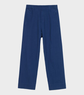 Aiayu - Coco Pant Twill Japanese Blue
