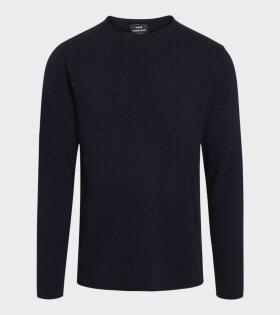 Mads Nørgaard  - Walham Karson Sweater Navy