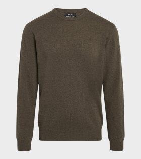 Mads Nørgaard  - Eco Wool Karsten Sweater Capers