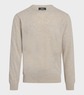 Mads Nørgaard  - Eco Wool Karsten Sweater Oatmeal