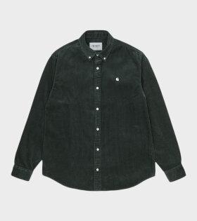Carhartt WIP - L/S Madison Cord Shirt Fraiser/Wax
