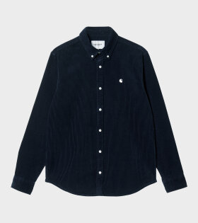 Carhartt WIP - L/S Madison Cord Shirt Astro/Wax