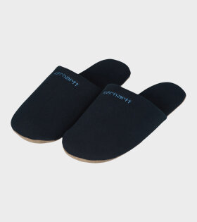 Carhartt WIP - Script Embroidery Slippers Astro/Icesheet