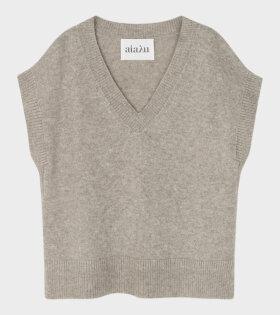 Aiayu - Foxglove Vest Light Grey