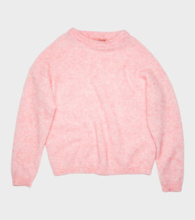 Mohair Blend Sweater Pink