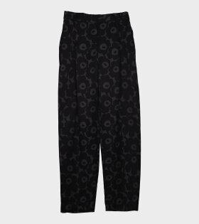 Lehmus Mini Unikko Trousers Black/Grey