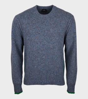 Flecked Knit Grey/Multicolor