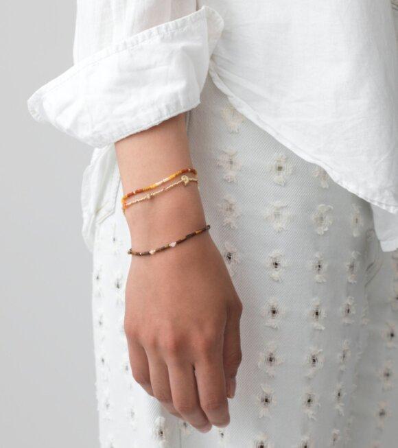 Anni Lu - Tie-Dye Bracelet Golden Amber